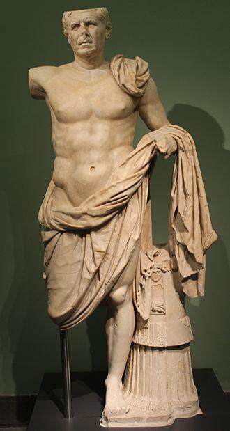 Verism - General de Tivoli, pseudo-athlete with veristic head, ca. 90-70 BC, Tivoli