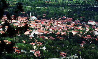 Eldivan Town in Turkey