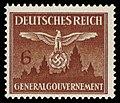 Generalgouvernement 1943 D25 Dienstmarke.jpg