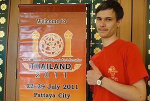 Gennady Korotkevich - Korotkevich in Thailand in 2011