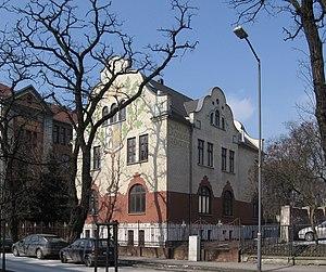 Georg Bruning villa Bytom facade
