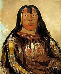 Peh-tó-pe-kiss, Eagle's Ribs, a Piegan Chief
