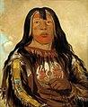 George Catlin - Peh-tó-pe-kiss, Eagle's Ribs, a Piegan Chief - 1985.66.160 - Smithsonian American Art Museum.jpg
