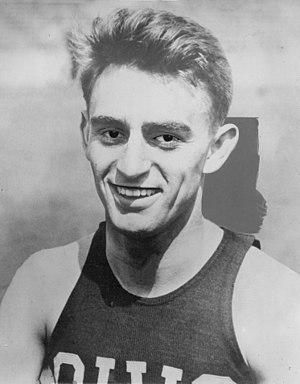 George Simpson (runner) - Simpson in 1929