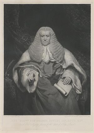 Ashford v Thornton - Sir George Sowley Holroyd, trial judge in R v Thornton