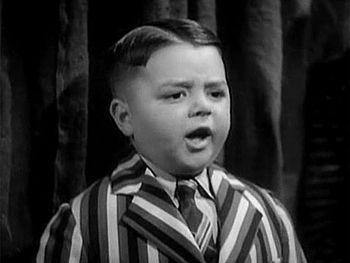 "English: George McFarland as Spanky in ""O..."