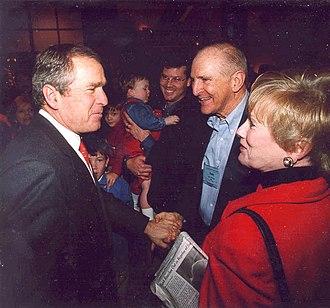 Kay Granger - Granger, George W. Bush, and Sam Johnson