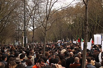Anti-austerity movement in Portugal - Protests in Lisbon
