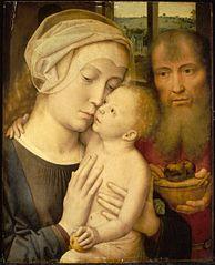 La Sainte Vierge avec l'Enfant Jésus.