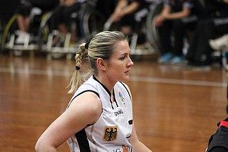 Edina Müller - Image: Germany women's national wheelchair basketball team 6880 05