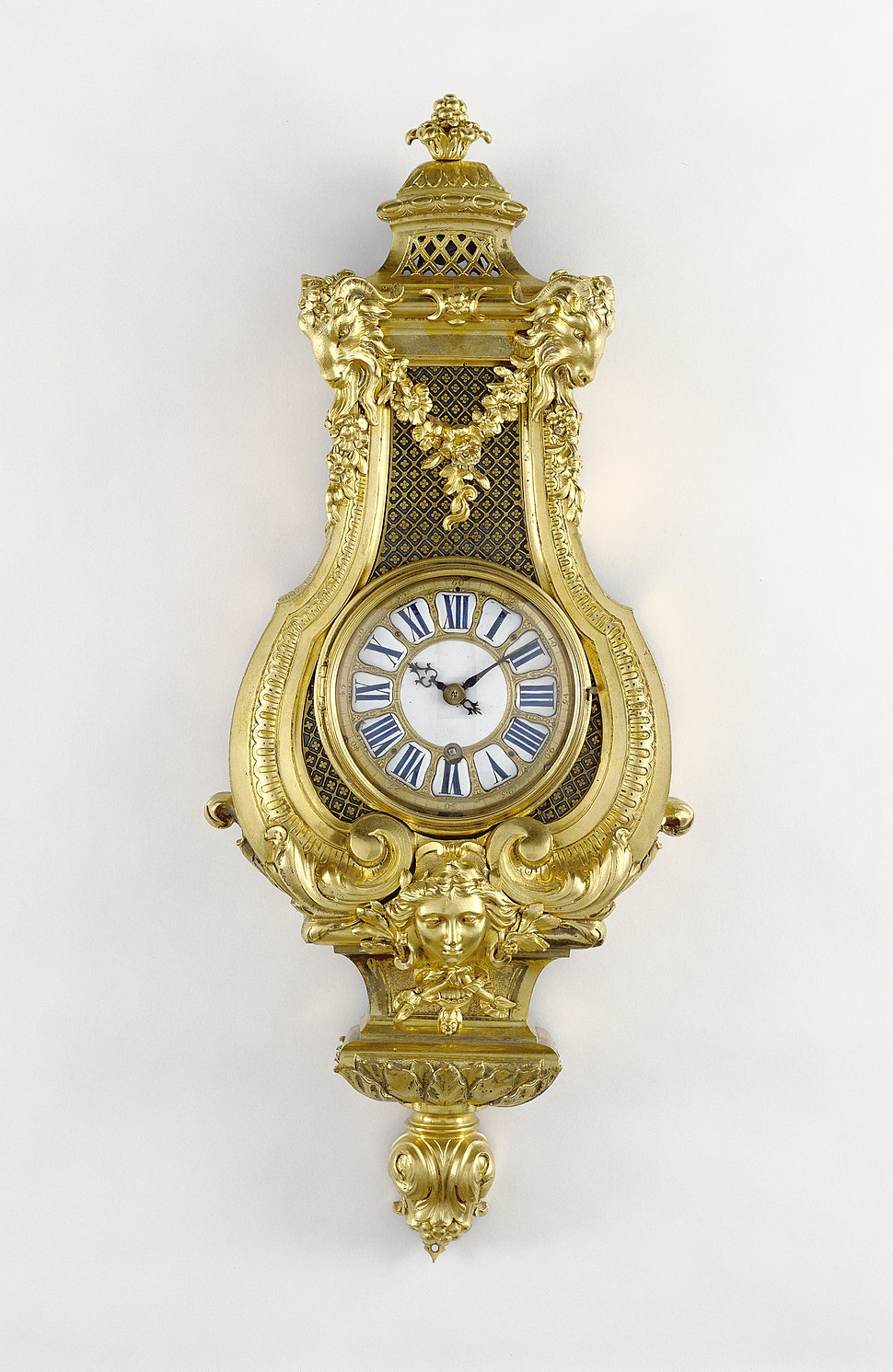 Getty Museum Wall Clock Andr%C3%A9-Charles Boulle