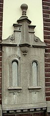 gevelsteen voorzijde post- en telegraafkantoor