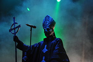 Ghost beim Rock am Ring 2014
