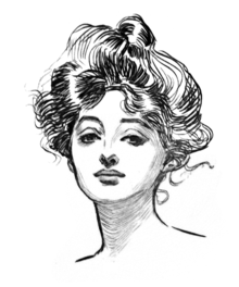 http://upload.wikimedia.org/wikipedia/commons/thumb/5/5a/Gibson_Girl.png/220px-Gibson_Girl.png