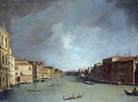 Giovanni Antonio Canal, il Canaletto - Grand Canal - Looking from Palazzo Balbi - WGA03875.jpg