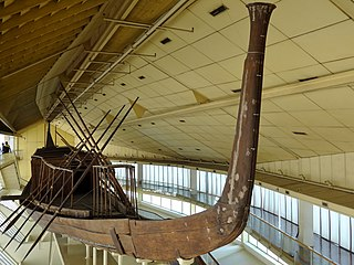 Khufu ship Intact vessel from Ancient Egypt