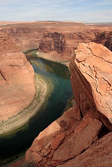 Photographie du Glen Canyon, 2004