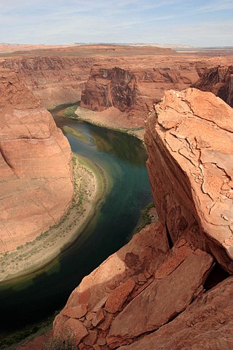 Planet of the Apes (1968 film) - The astronauts' journey from their downed ship was filmed along the Colorado River in Glen Canyon.