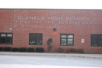 Glenelg High School - Image: Glenelg High School entrance