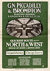 1906 GNP&BR poster