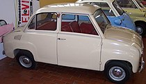 "Goggomobil Sedan van 1964 of later, met ""normale"" portieren."