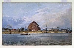 Golghar - Image: Golghar at Bankipur, near Patna, 1814 15