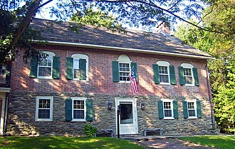 History of the Jews in the United States - The Gomez Mill House, built in 1714 near Marlboro, New York by a Sephardic Jew from Portugal. Earliest surviving Jewish residence in the U.S.