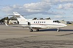 Government of Queensland (VH-SGY) Raytheon Hawker 850XP at Wagga Wagga Airport (6).jpg