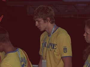 Andriy Govorov - Govorov at the 2010 Youth Olympic Games