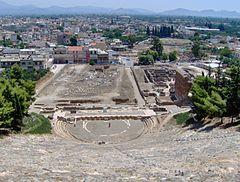 Grækenlands ældste teater i Argos(10.07.05)