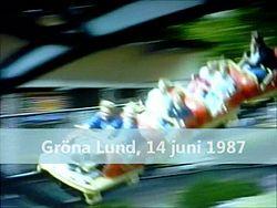 Файл: Gröna Lund Nyckelpigan, Lustiga huset 1987.webm