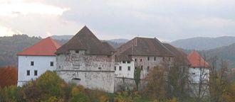 Turjak Castle - Turjak Castle, panorama