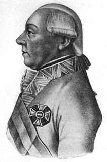 Maximilian Anton Karl, Count Baillet de Latour General in Austrian service