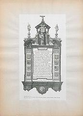 Graf monument voor Melchior de Villegas en zijn echtgenote Josine de Tornel