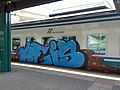 Graffiti on rolling stock in Rome - panoramio.jpg