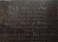 Grafplaat de Broglie & Delebecque.jpg