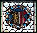 Gramastetten Pfarrkirche - Fenster V 3 Wappen.jpg