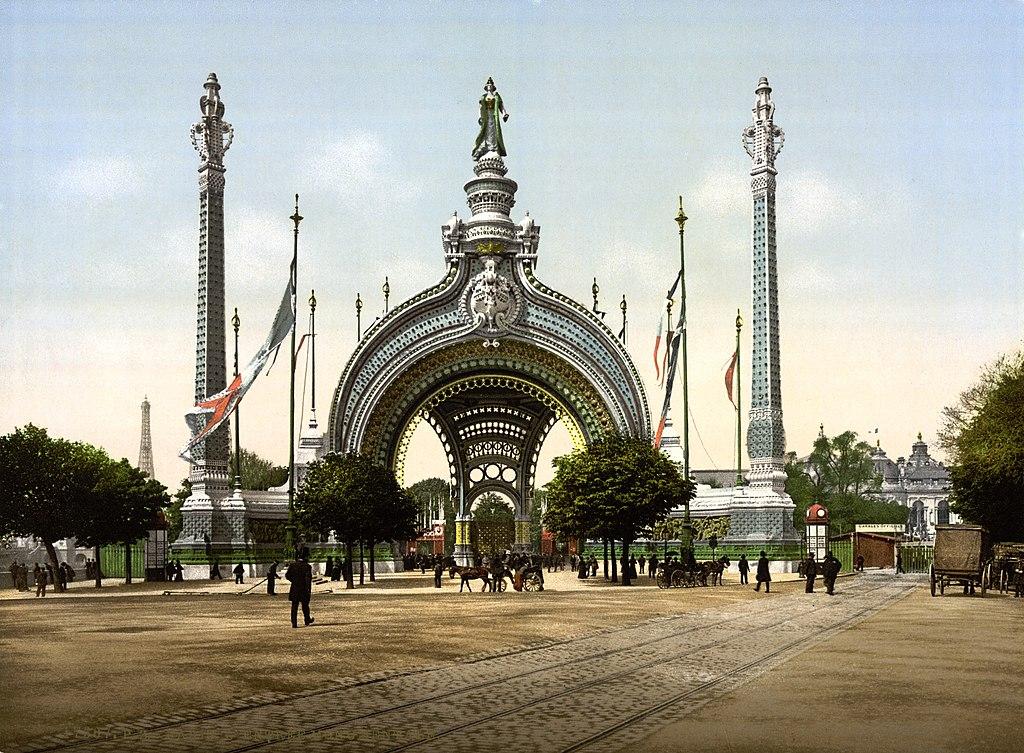file grand entrance exposition universal 1900 paris. Black Bedroom Furniture Sets. Home Design Ideas