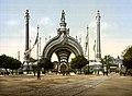 Grand entrance, Exposition Universal, 1900, Paris, France.jpg