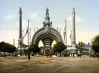 Grand entrance, Exposition Universal, 1900, Pa...
