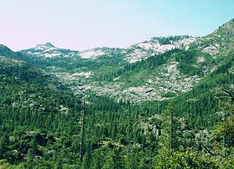 Granite Chief Wilderness - Image: Granite Chief Wilderness