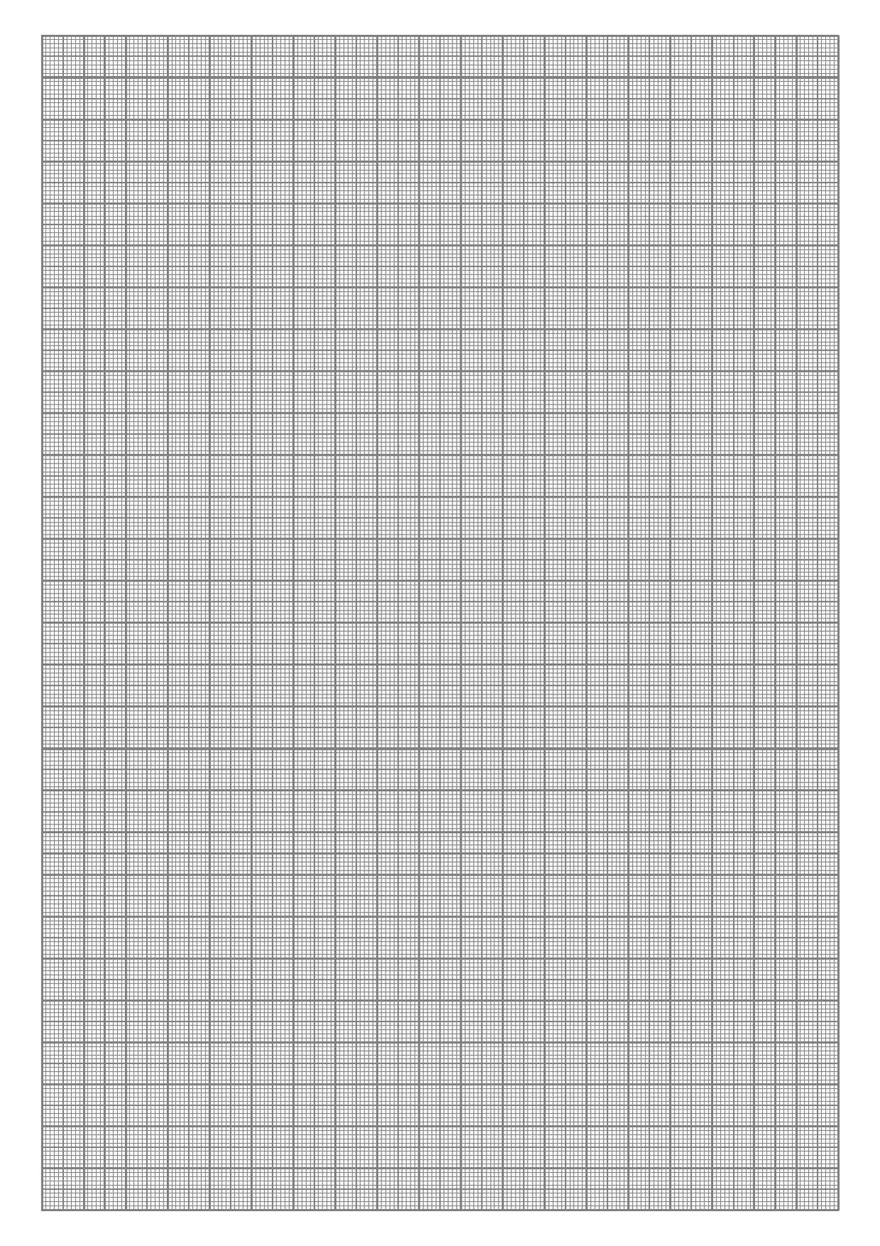 Premium Graph Paper Template