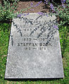 Grave of swedish professor fredrik böök.jpg