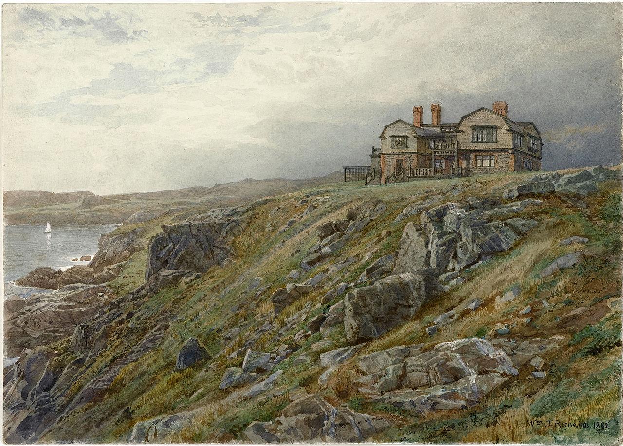 Thomas Worthington Whittredge Woodland Interior 165 X 245 Framed Premium Canvas Print