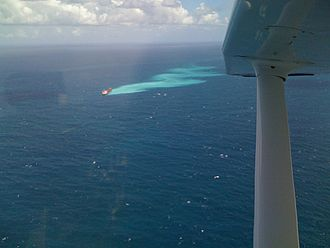 Jia Yong - Shen Neng 1 aground on the Great Barrier Reef