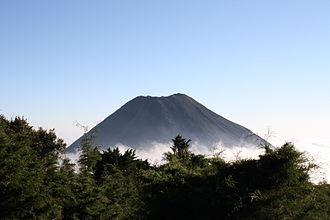 Izalco (volcano) - Image: Green Izalco Volcano