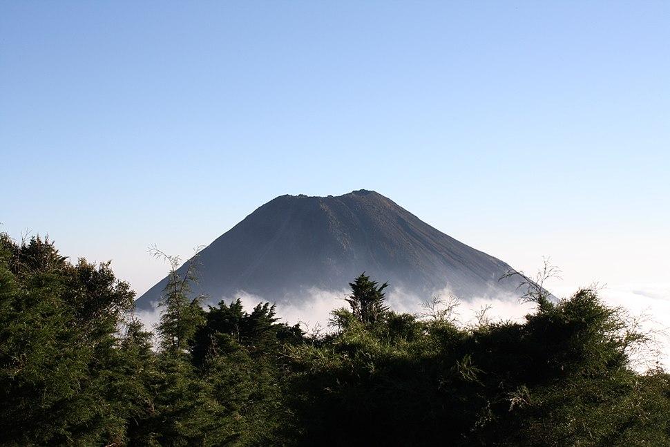 Green Izalco Volcano