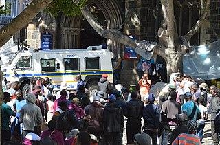 Greenmarket Square refugee sit-in