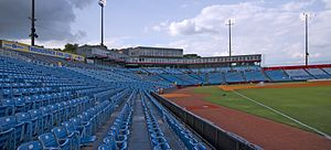Herschel Greer Stadium - Image: Greer Stadium Seating Bowl