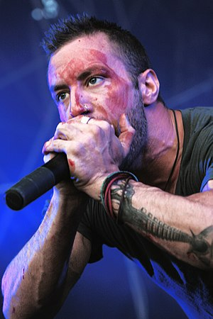 Greg Puciato - Greg Puciato at the Picture on festival in Bildein, Austria, August 2011
